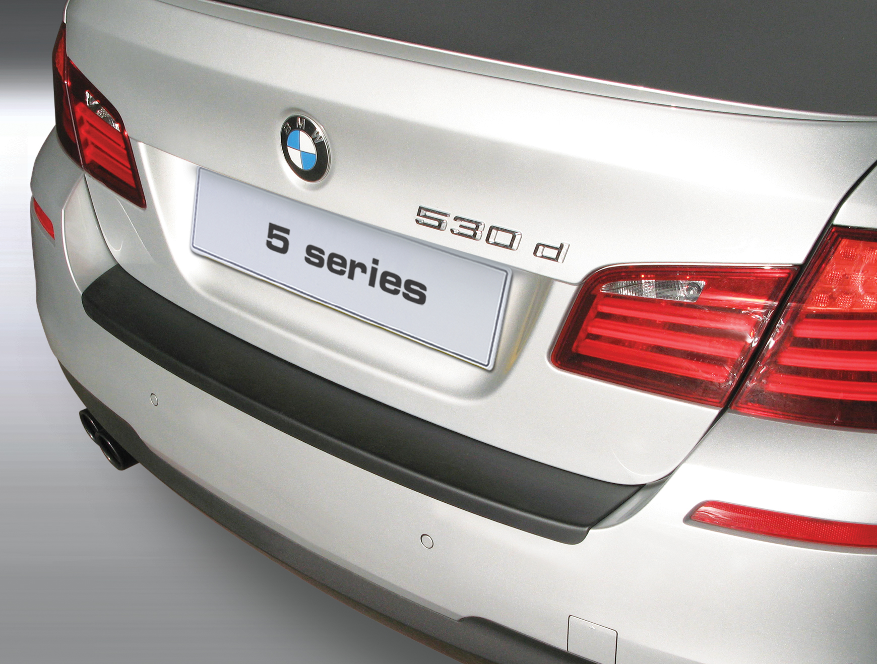 Накладка на задний бампер BMW 5 серии M Sport, 4-дв. седан, кузов F10, 2010-2016