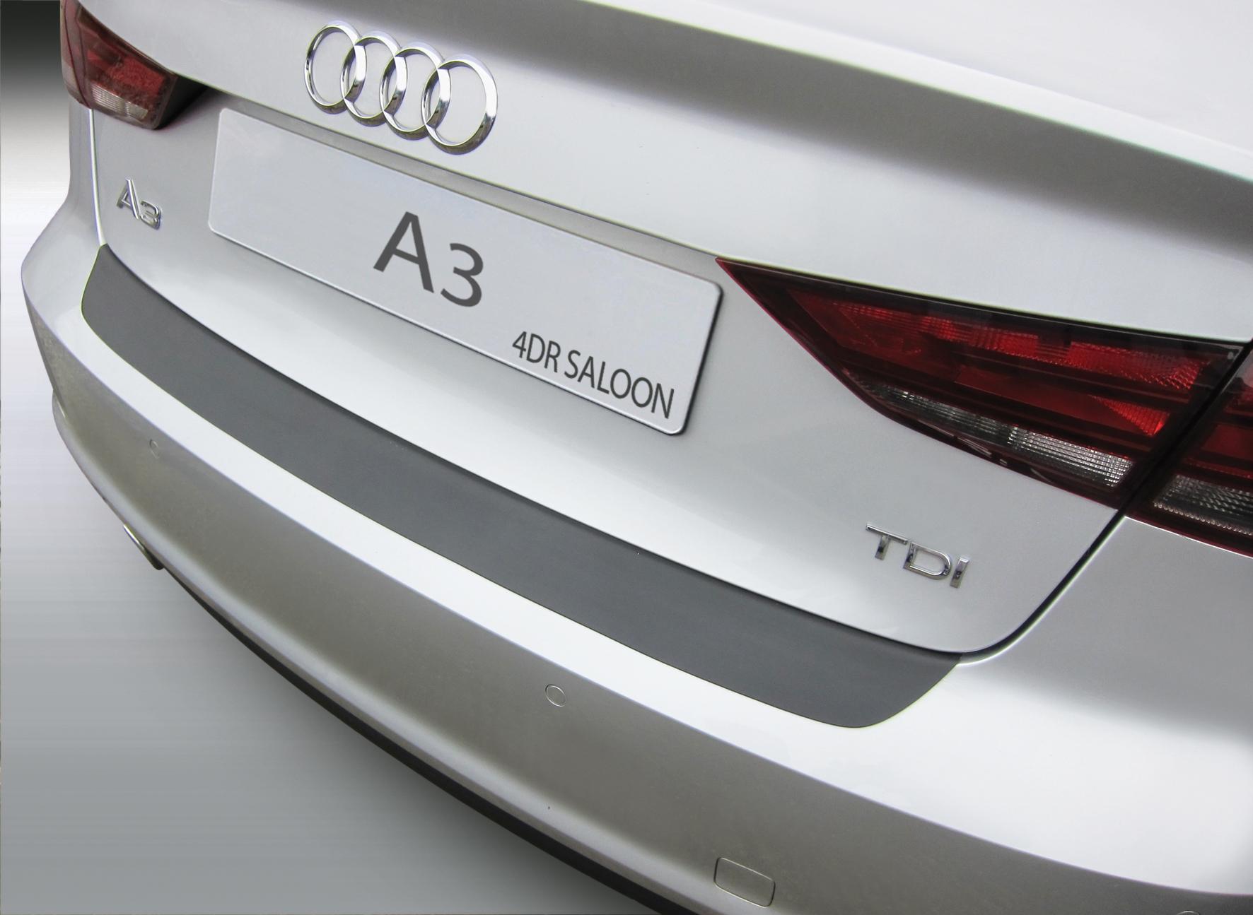 Накладка на задний бампер Audi A3 / S3, седан, 2013-2018