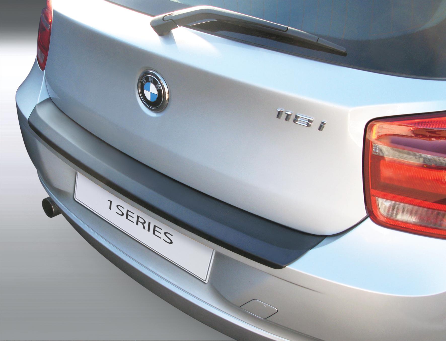 Накладка на задний бампер BMW 1 серии, 5-дв. хэтчбек, кузов F20, 2011-2015