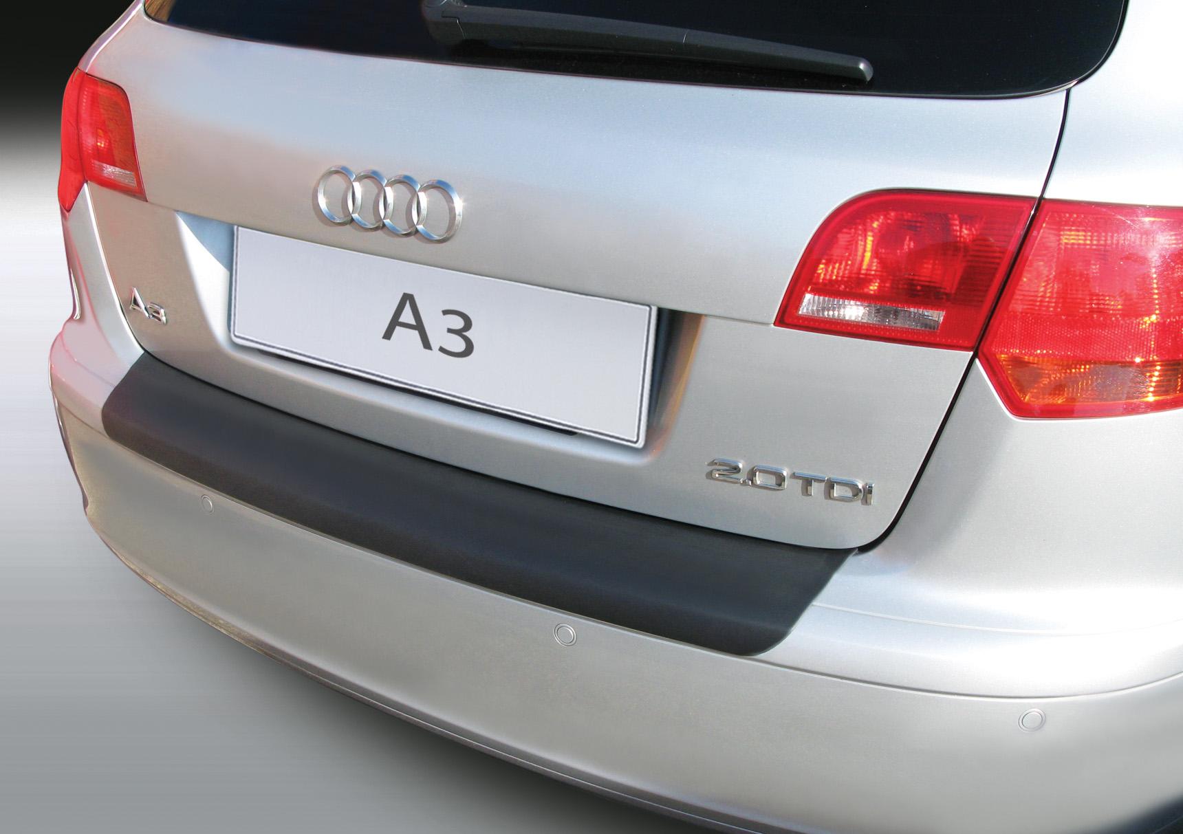 Накладка на задний бампер Audi A3, 5-дв. хэтчбек, 2004-2008