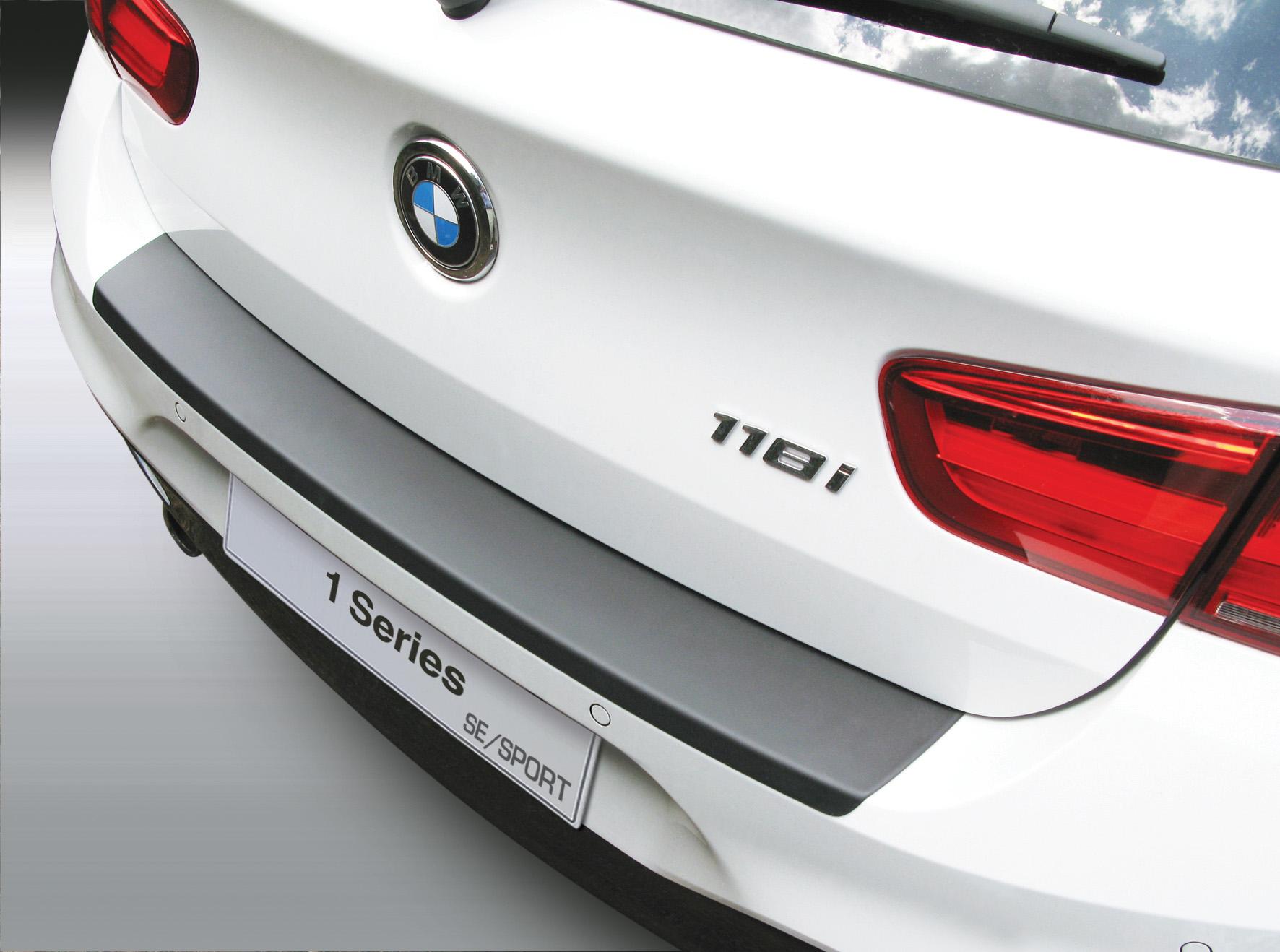Накладка на задний бампер  BMW 1 серии, 3/5-дв. хэтчбек, кузов F21, 2015-2018