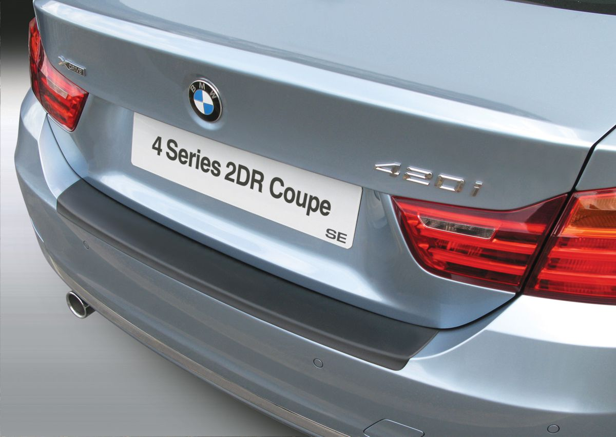 Накладка на задний бампер BMW 4 серии SE / Sport / Luxury, 2-дв. купе, кузов F32, 2013-2018