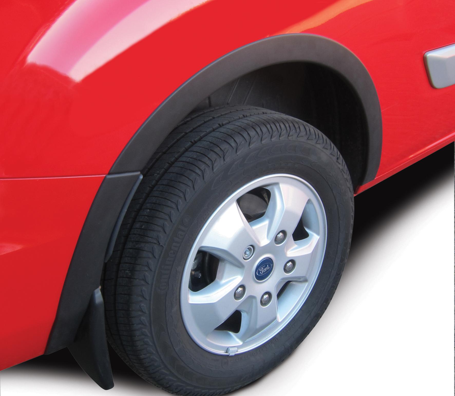 Расширители колесных арок Ford Transit / Tourneo Custom, 2012-2017