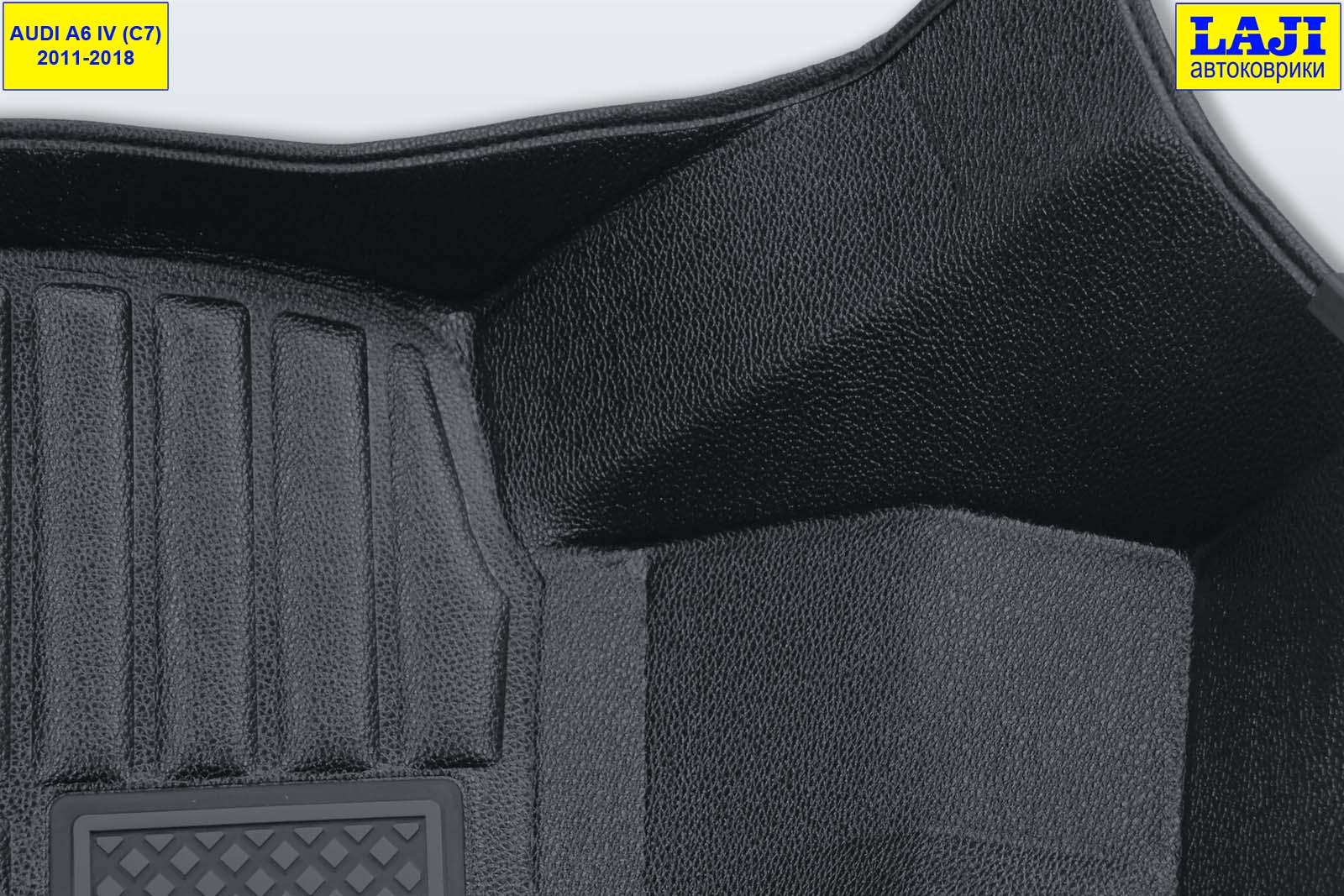 5D коврики для Audi A6 C7 2011-2018 6