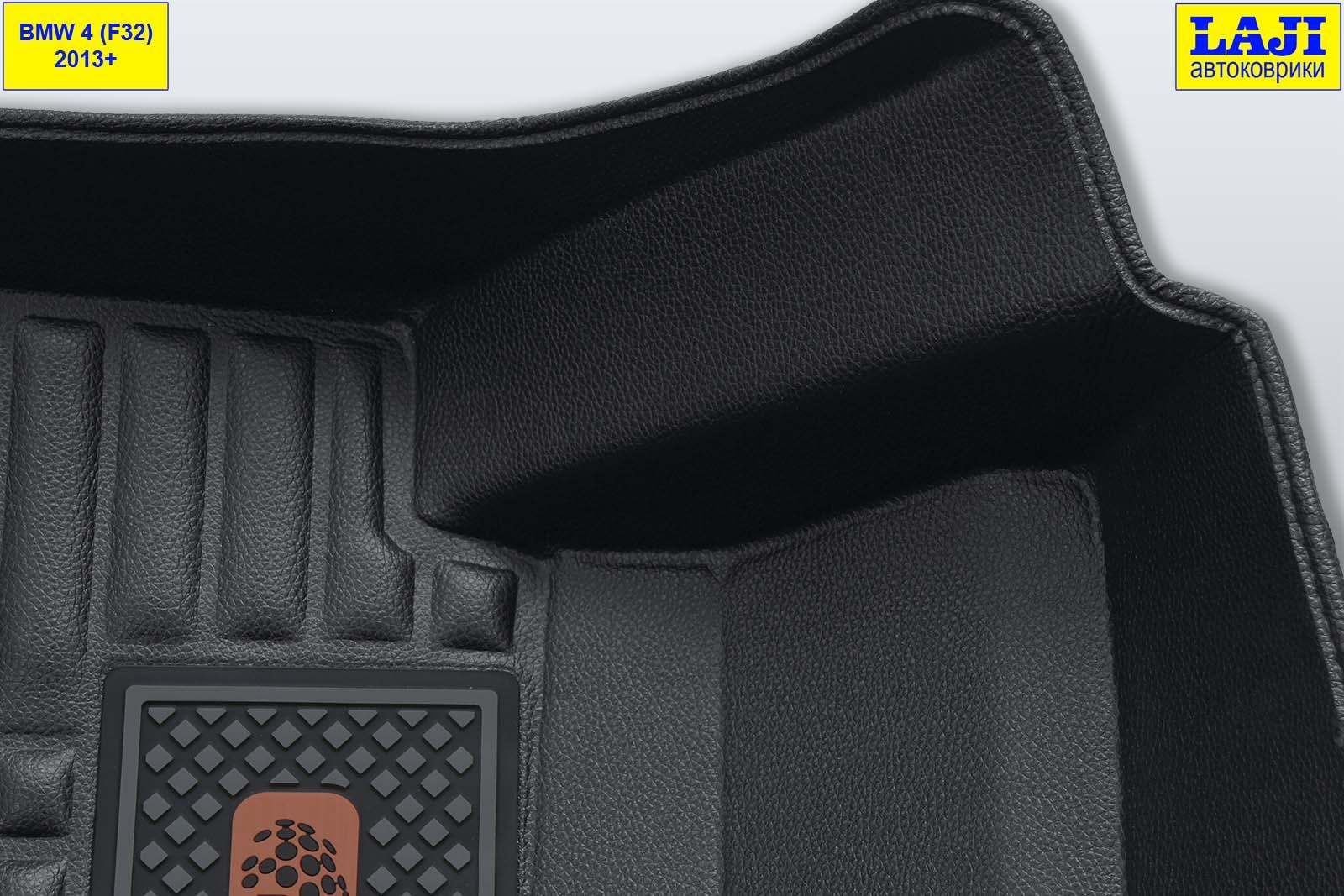 5D коврики в салон BMW 4 Coupe F32 2013-2020 6