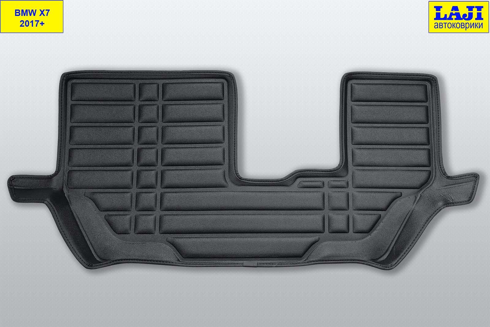 5D коврики в салон BMW X7, 7 мест, 2017-н.в. 12