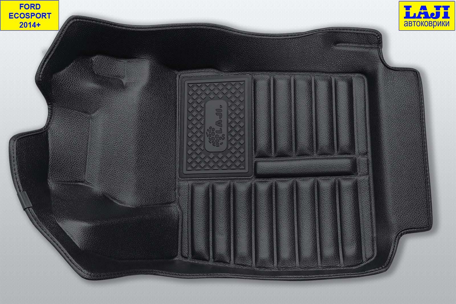 5D коврики в салон Ford Ecosport 2014-н.в. 3