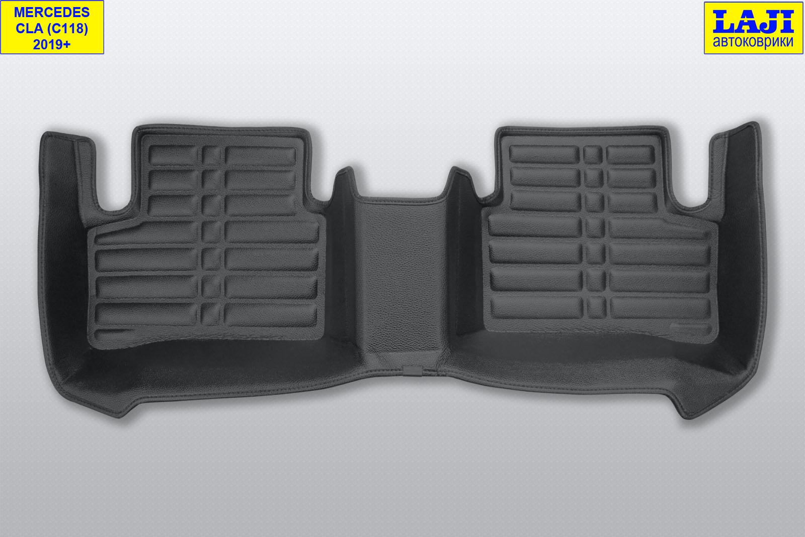 5D коврики в салон Mercedes CLA C118 2019-н.в. 10