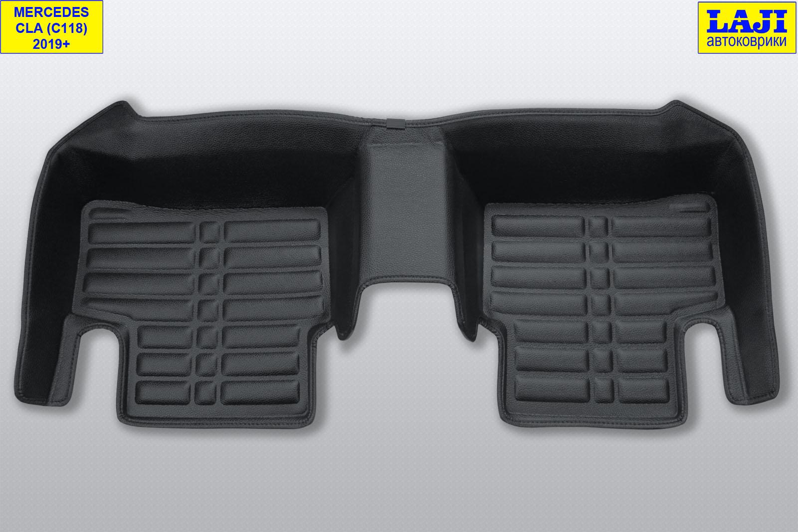 5D коврики в салон Mercedes CLA C118 2019-н.в. 9