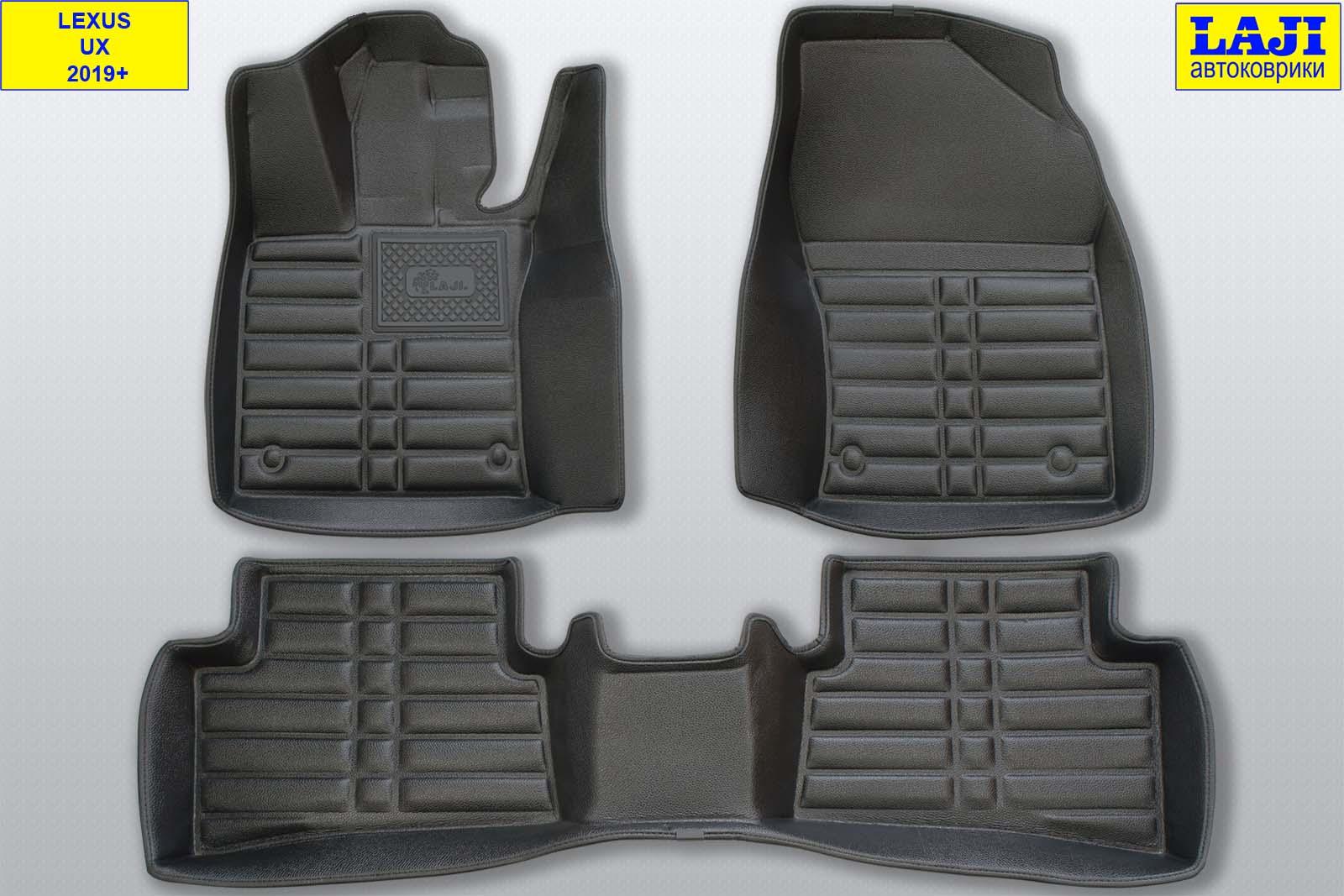 5D коврики в салон Lexus UX 2019-н.в. 1