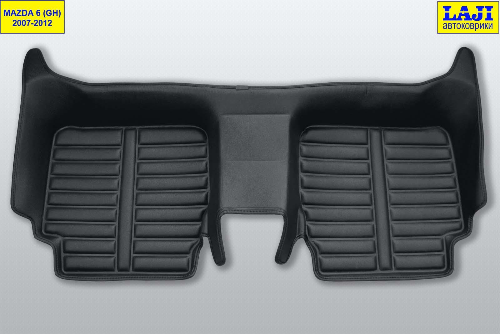 5D коврики в салон Mazda 6 GH 2007-2012 9