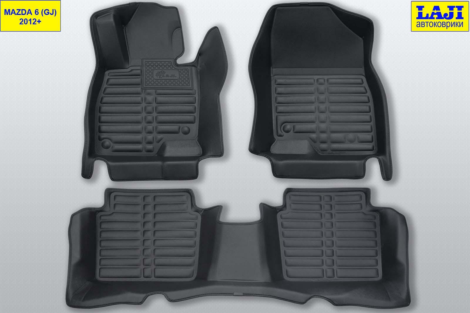 5D коврики в салон Mazda 6 GJ 2012-н.в. 1