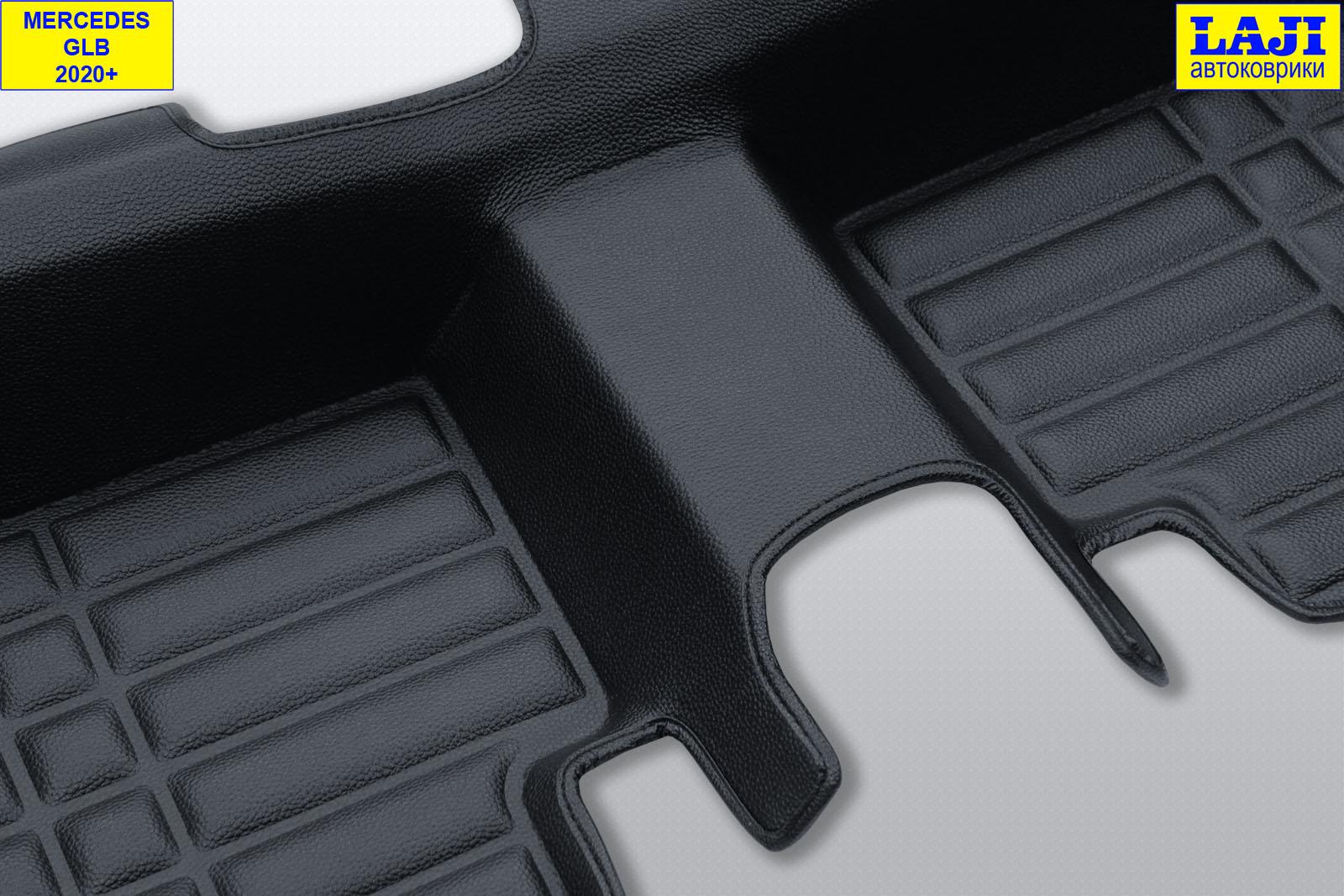 5D коврики в салон Mercedes GLB 2020-н.в. 11