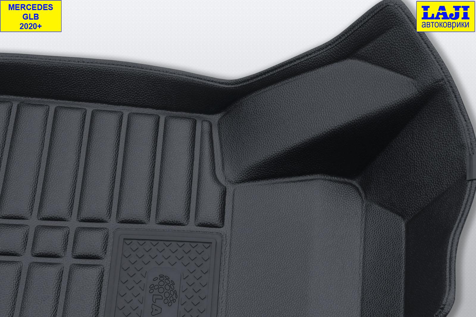 5D коврики в салон Mercedes GLB 2020-н.в. 6