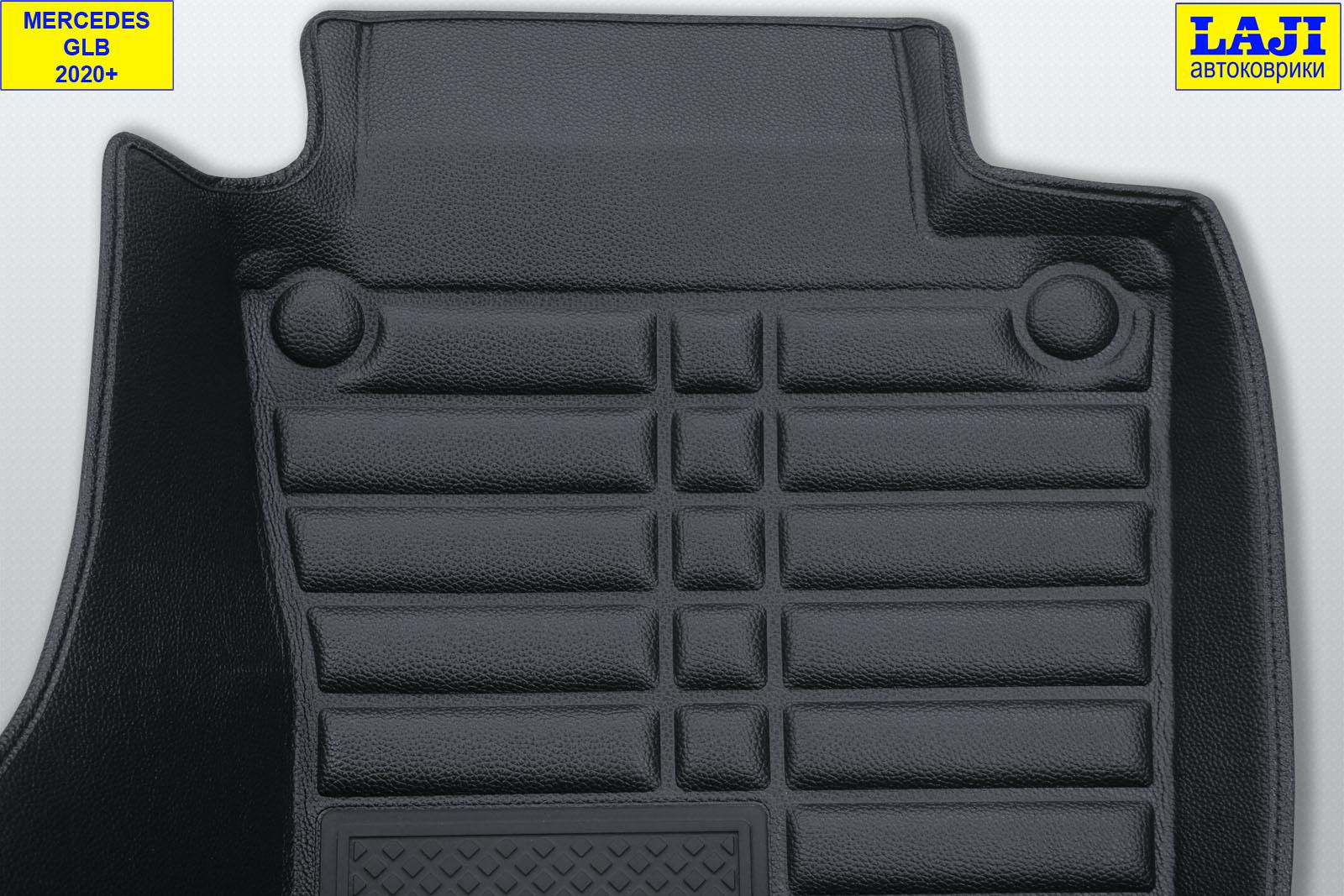5D коврики в салон Mercedes GLB 2020-н.в. 8