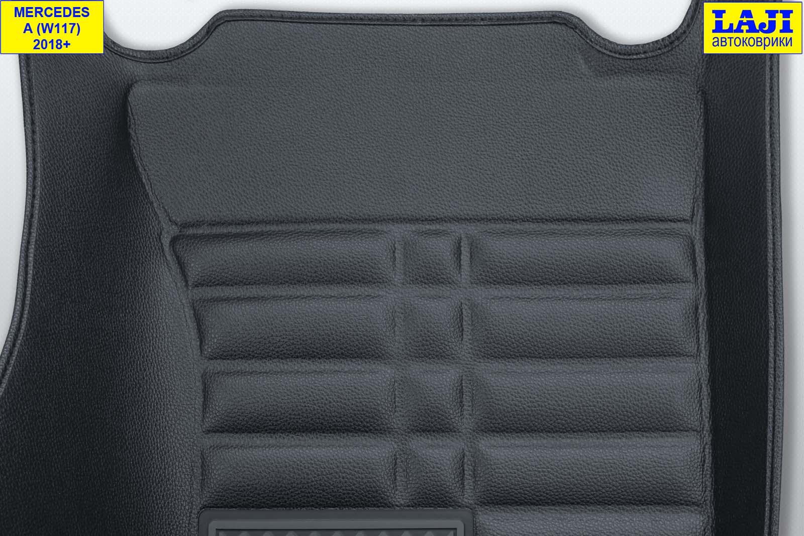5D коврики в салон Mercedes A W176 2012-2018 8