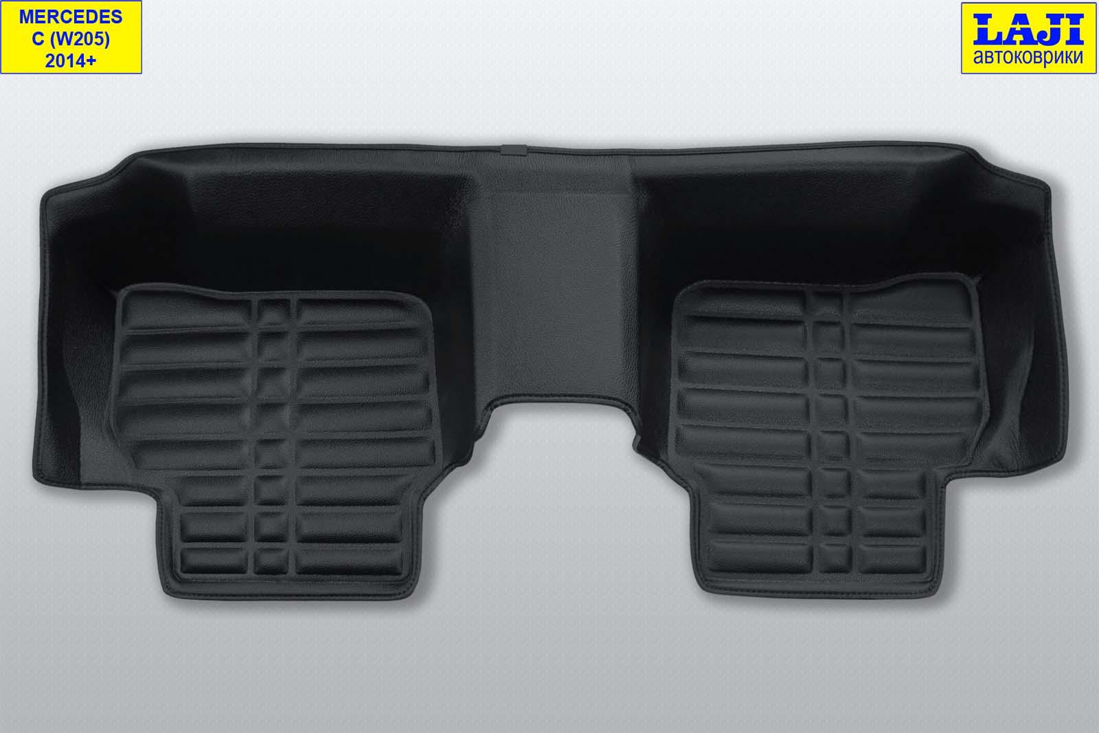 5D коврики в салон Mercedes С W205 2014-н.в. 9