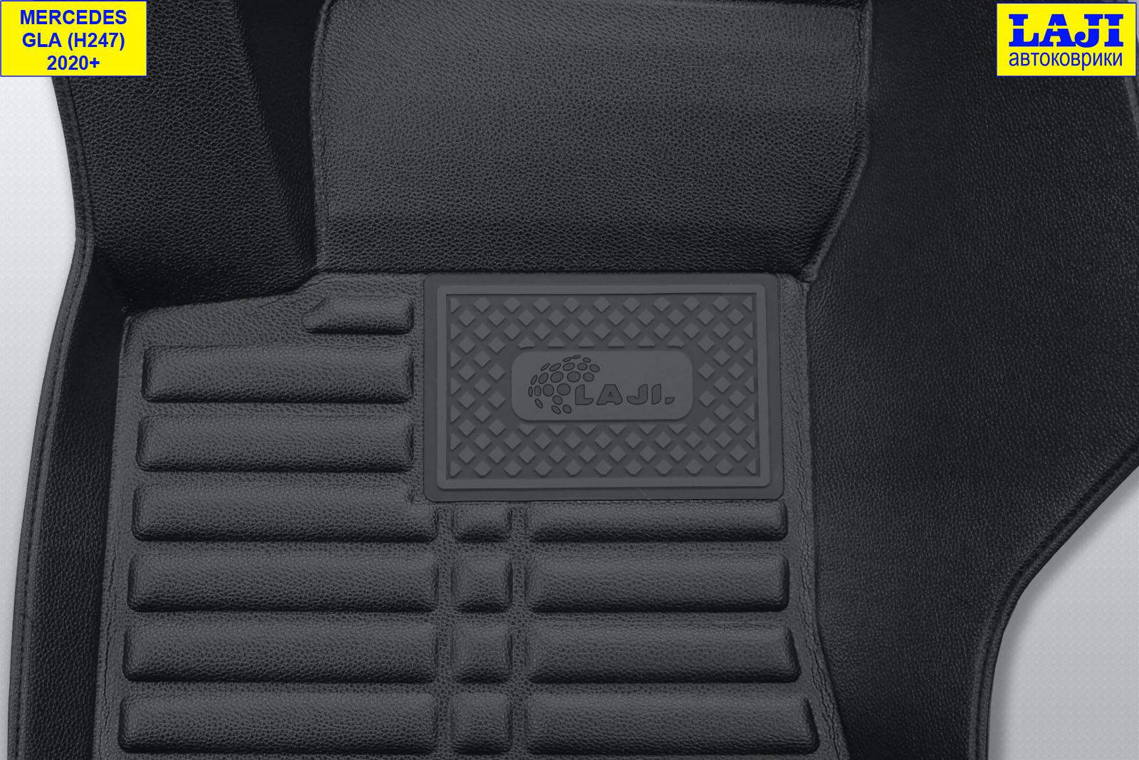 5D коврики в салон Mercedes GLA X156 2013-2020 7