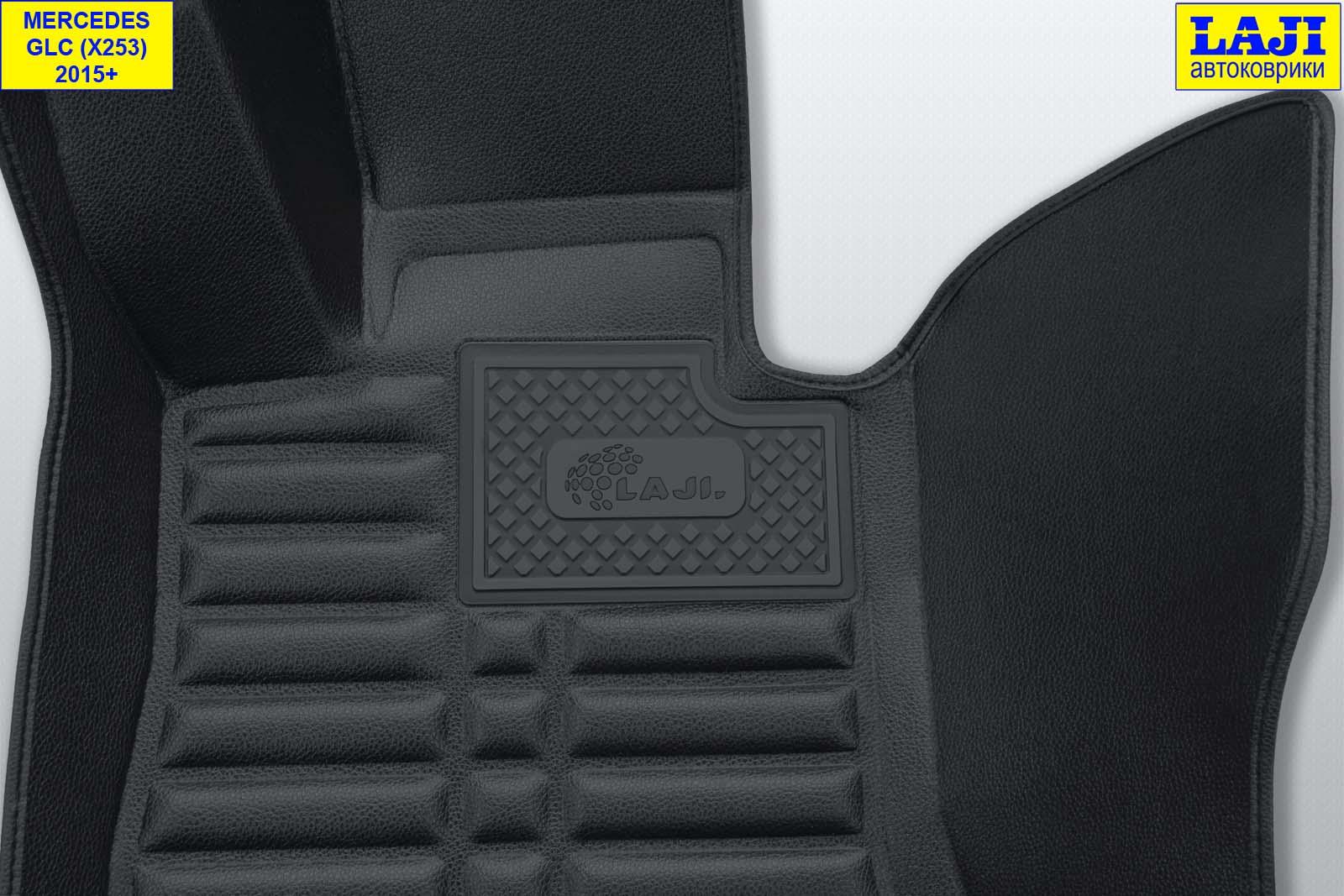 5D коврики в салон Mercedes GLC X253 2015-н.в. 7