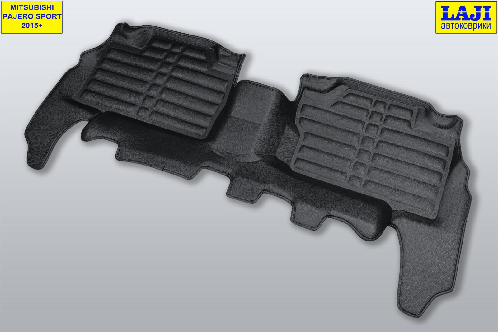 5D коврики в салон Mitsubishi Pajero Sport III 2015-н.в. 7
