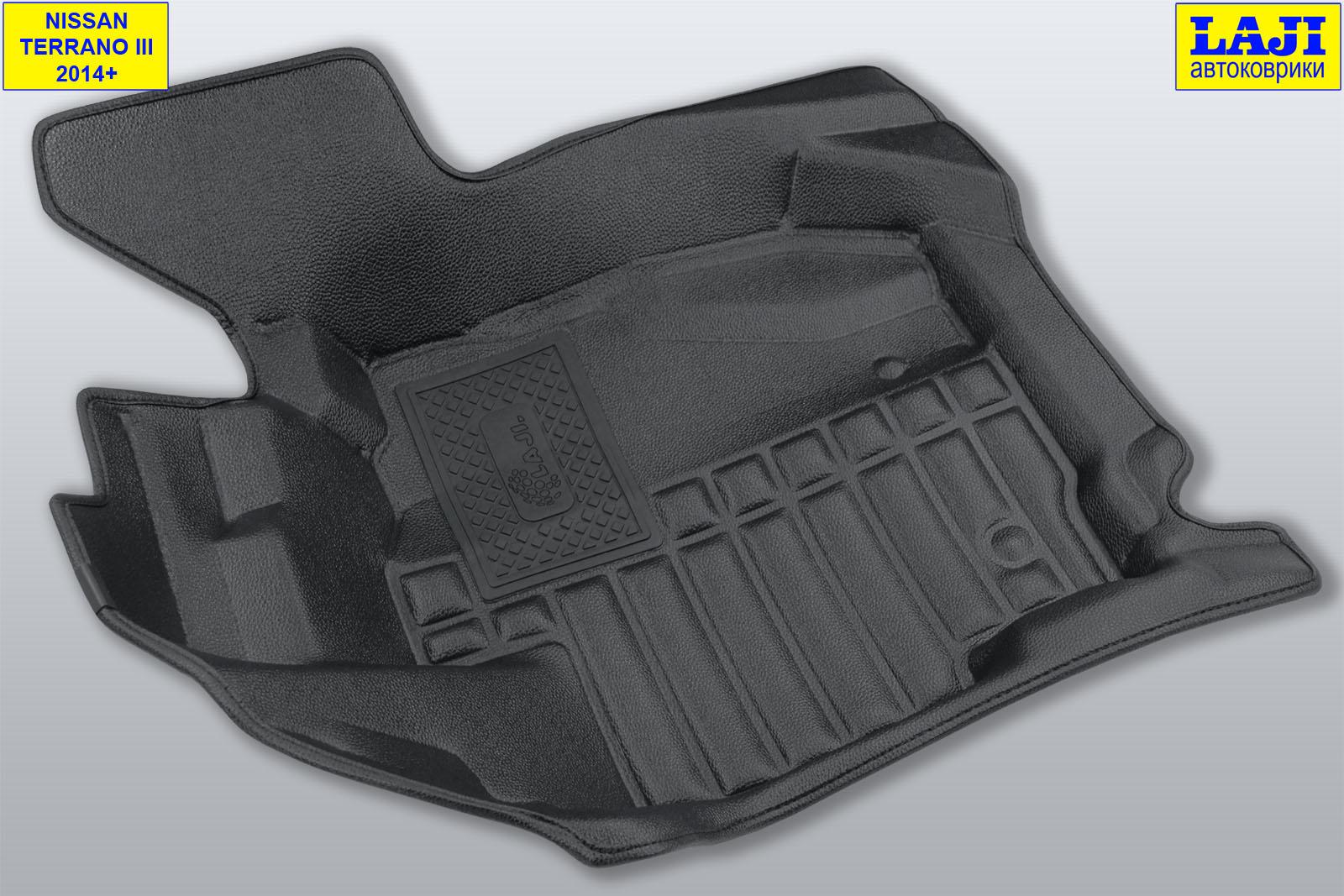 5D коврики в салон Nissan Terrano 3 D10 2014-н.в. 3