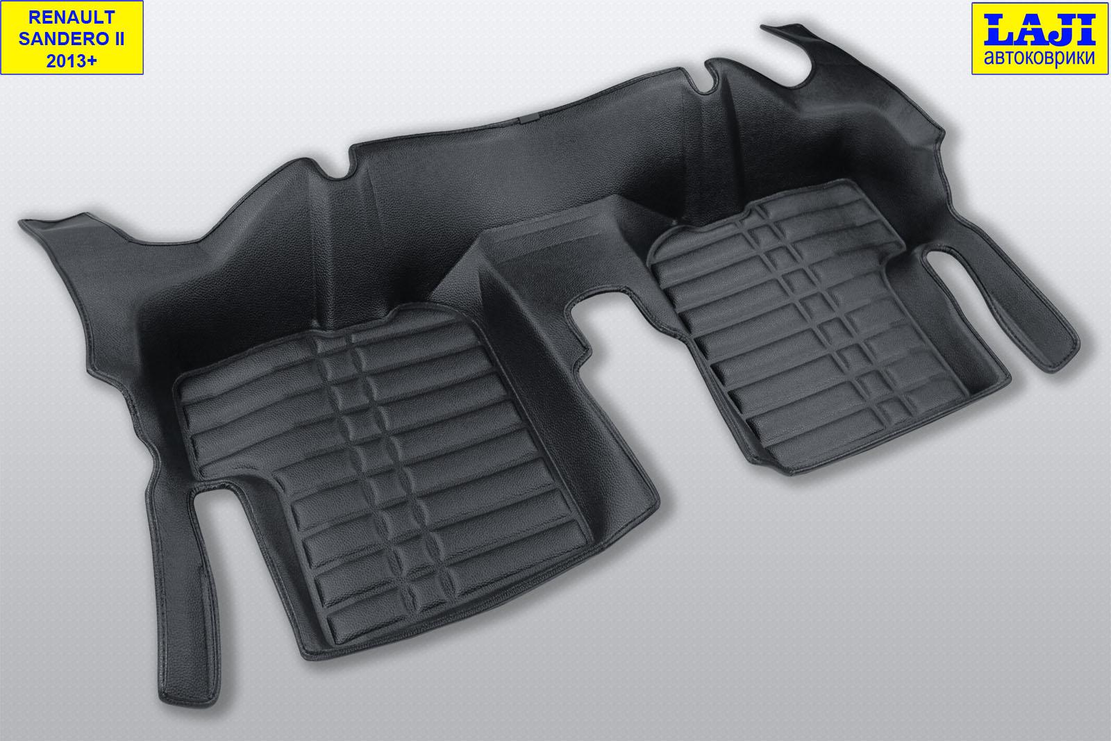 5D коврики в салон Renault Sandero 2 2014-н.в. 10