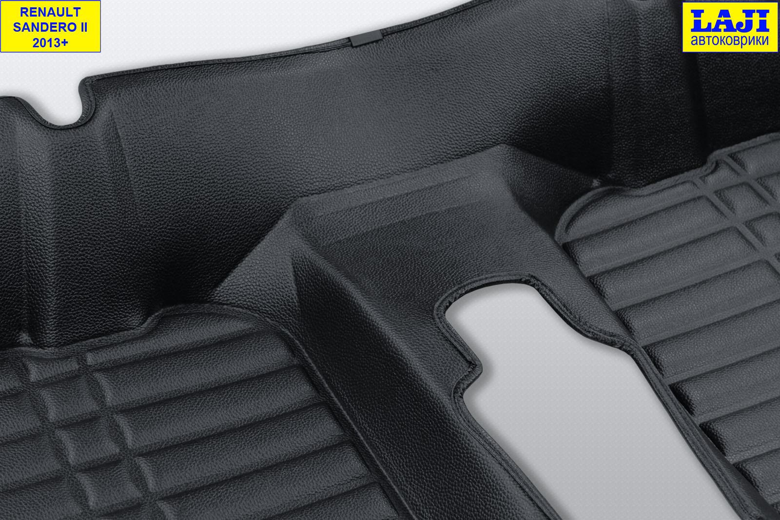 5D коврики в салон Renault Sandero 2 2014-н.в. 11