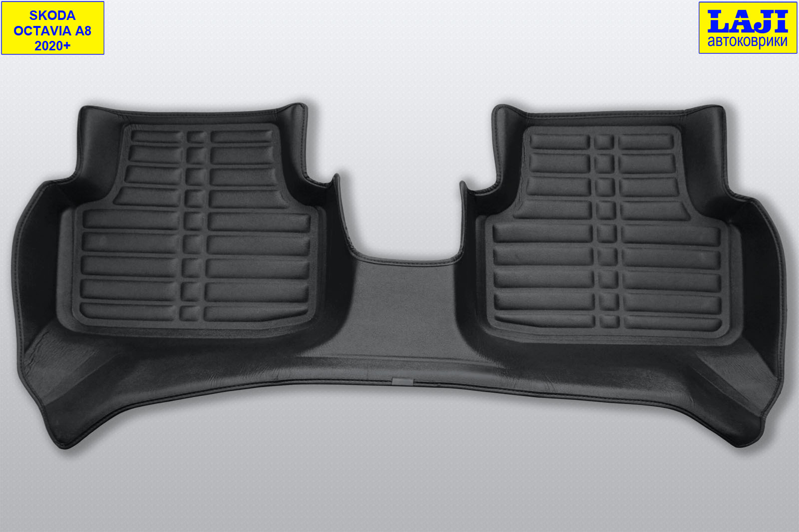 5D коврики в салон Skoda Octavia A8 2020-н.в. 10