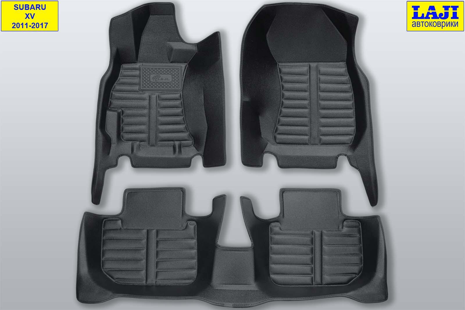 5D коврики в салон Subaru XV 2011-2017 1
