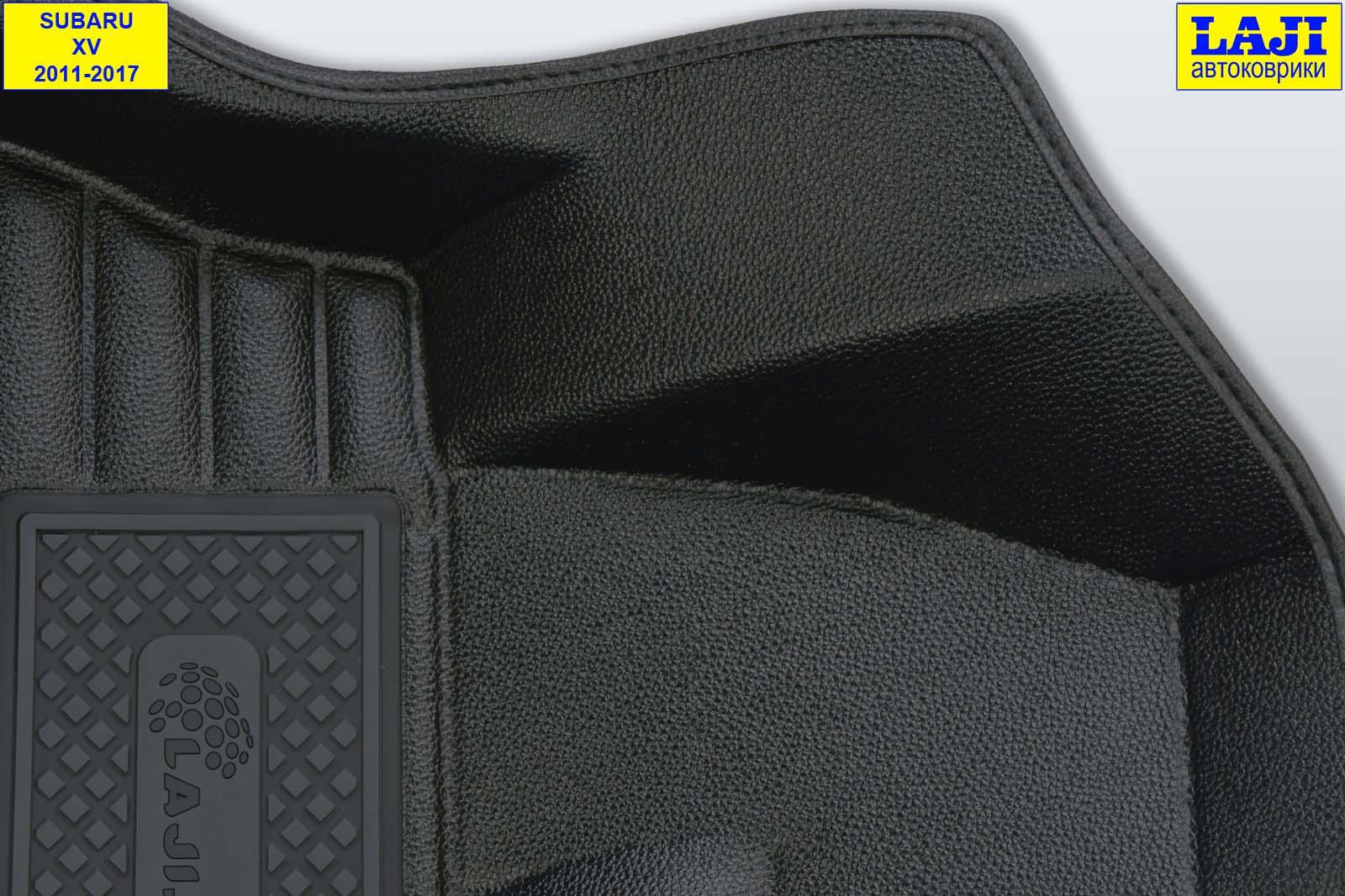 5D коврики в салон Subaru XV 2011-2017 6