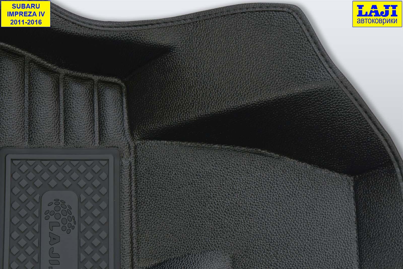 5D коврики в салон Subaru Impreza 4 2011-2016 6