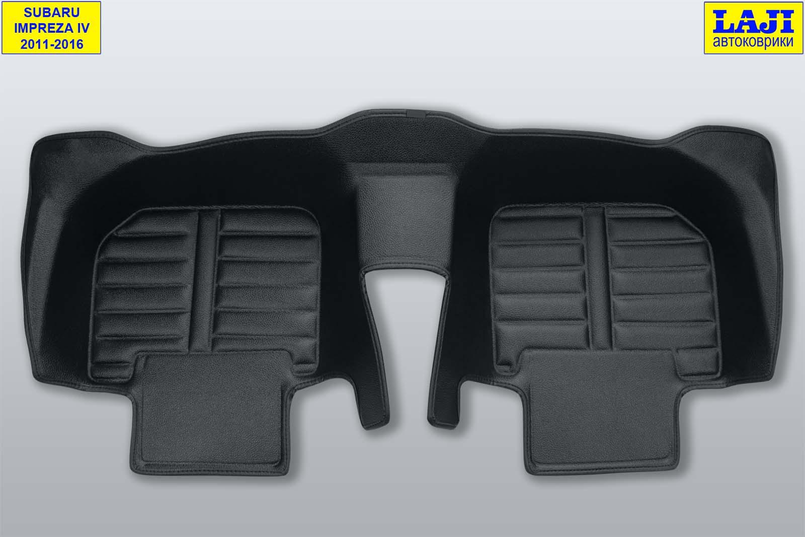 5D коврики в салон Subaru Impreza 4 2011-2016 9