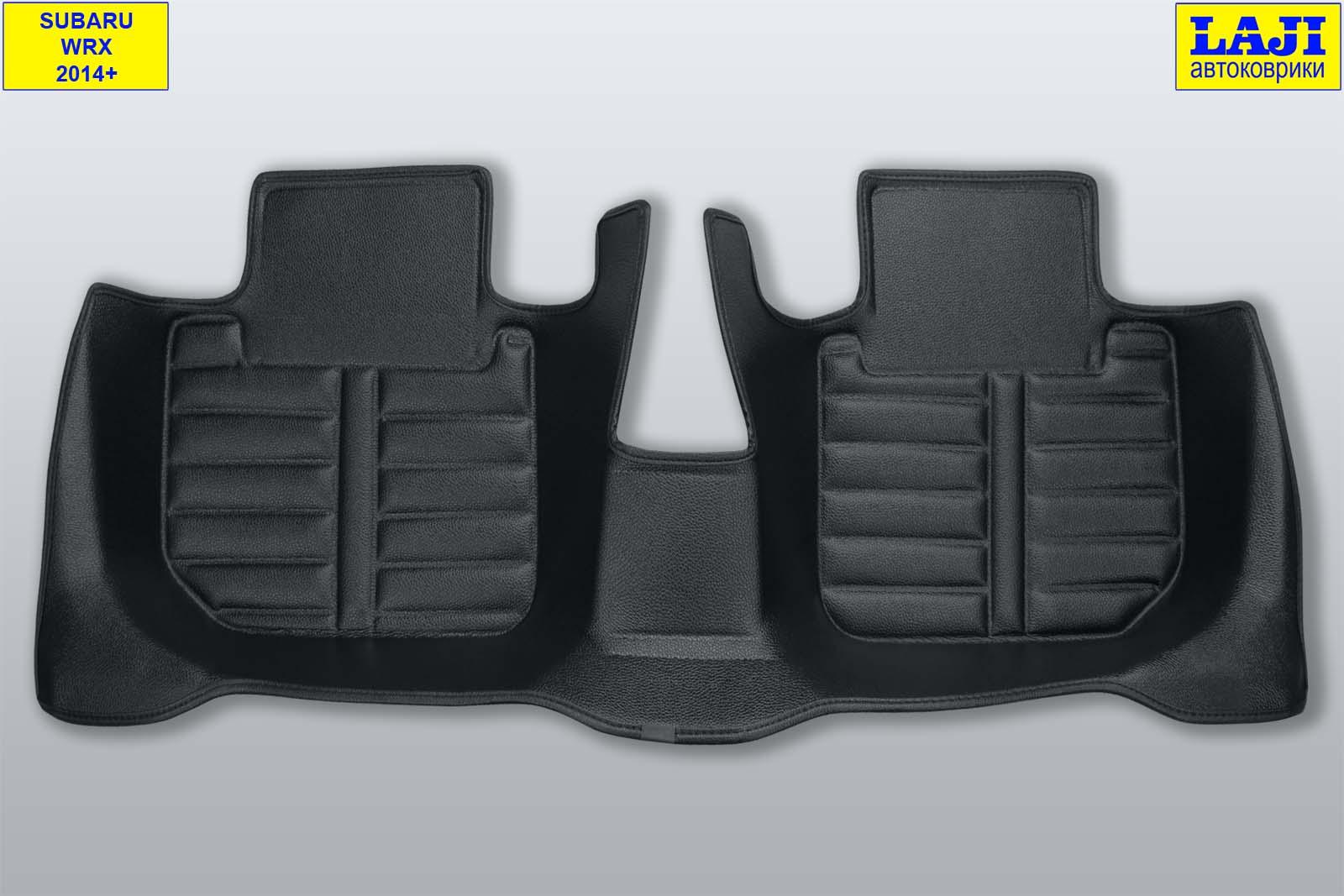 5D коврики в салон Subaru WRX 2014-н.в. 10