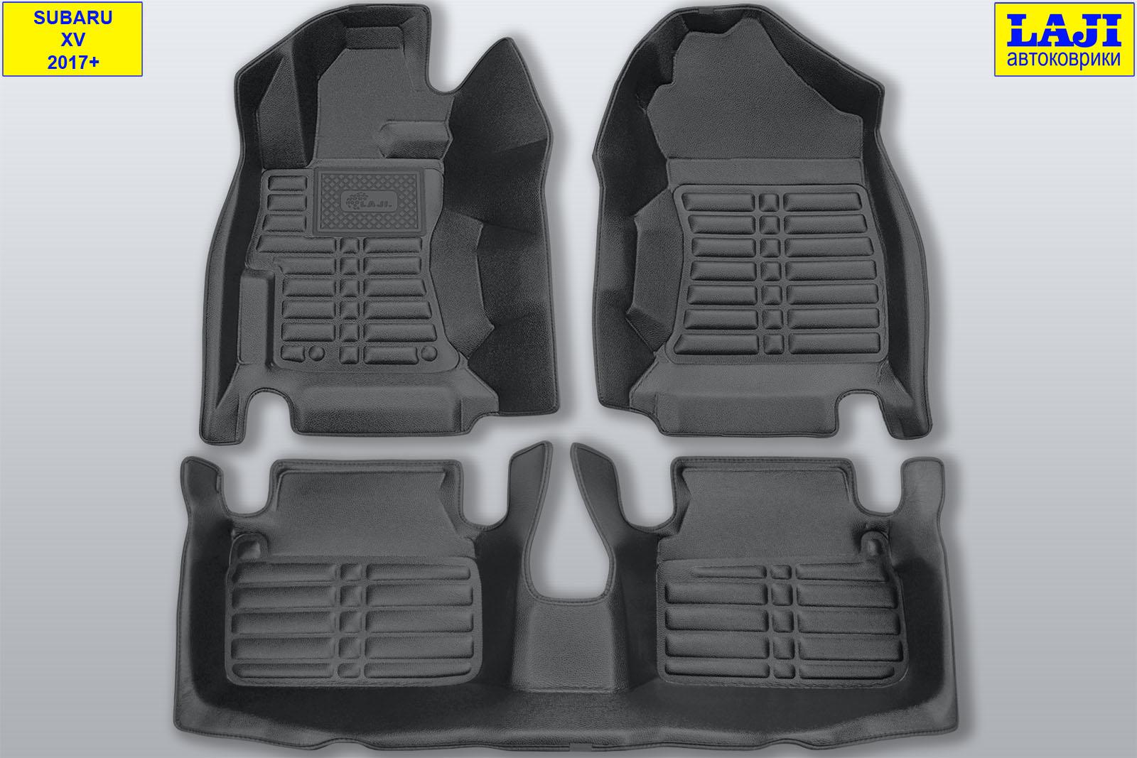 5D коврики в салон Subaru XV 2017-н.в. 1