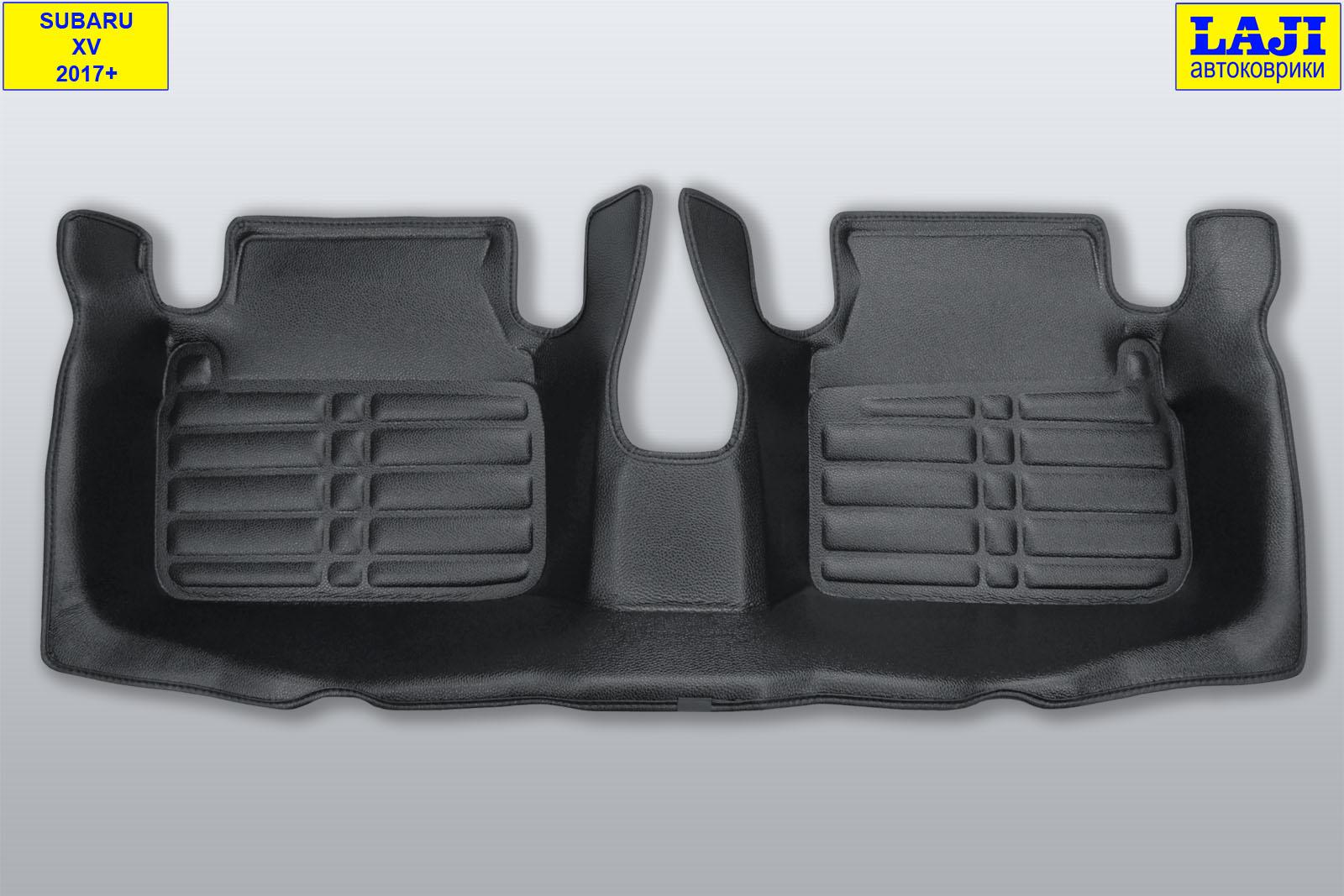 5D коврики в салон Subaru XV 2017-н.в. 10