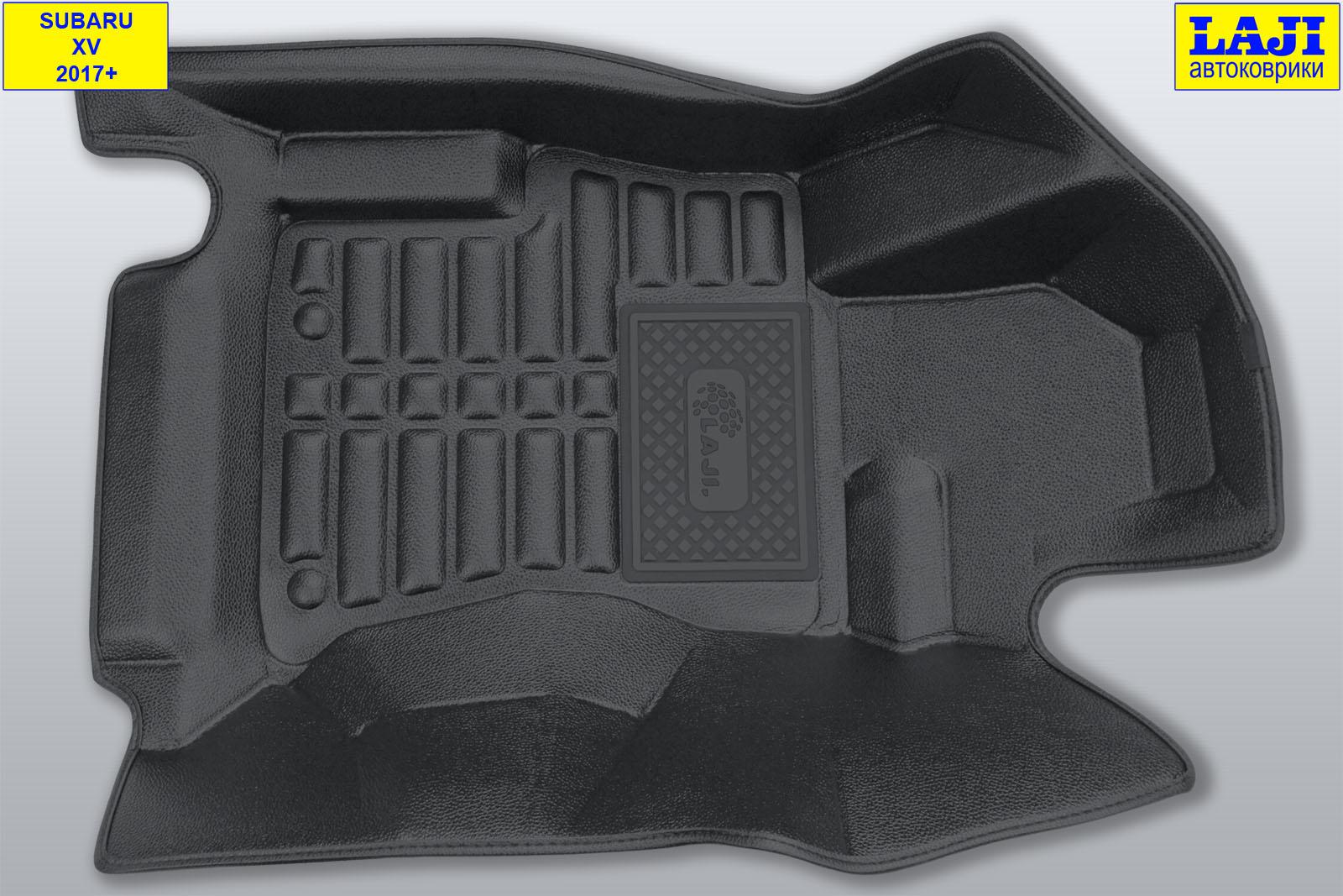 5D коврики в салон Subaru XV 2017-н.в. 2