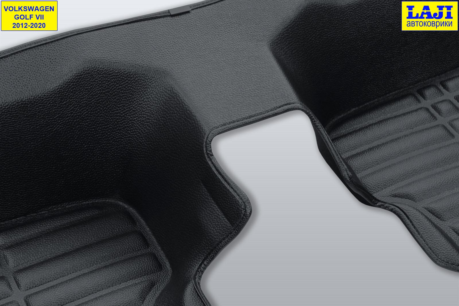 5D коврики в салон Volkswagen Golf 7 2012-2020 11