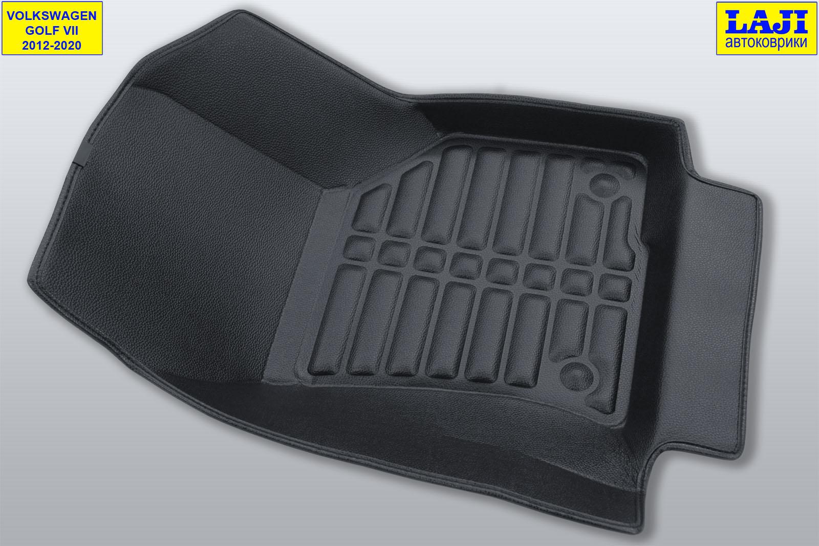 5D коврики в салон Volkswagen Golf 7 2012-2020 4