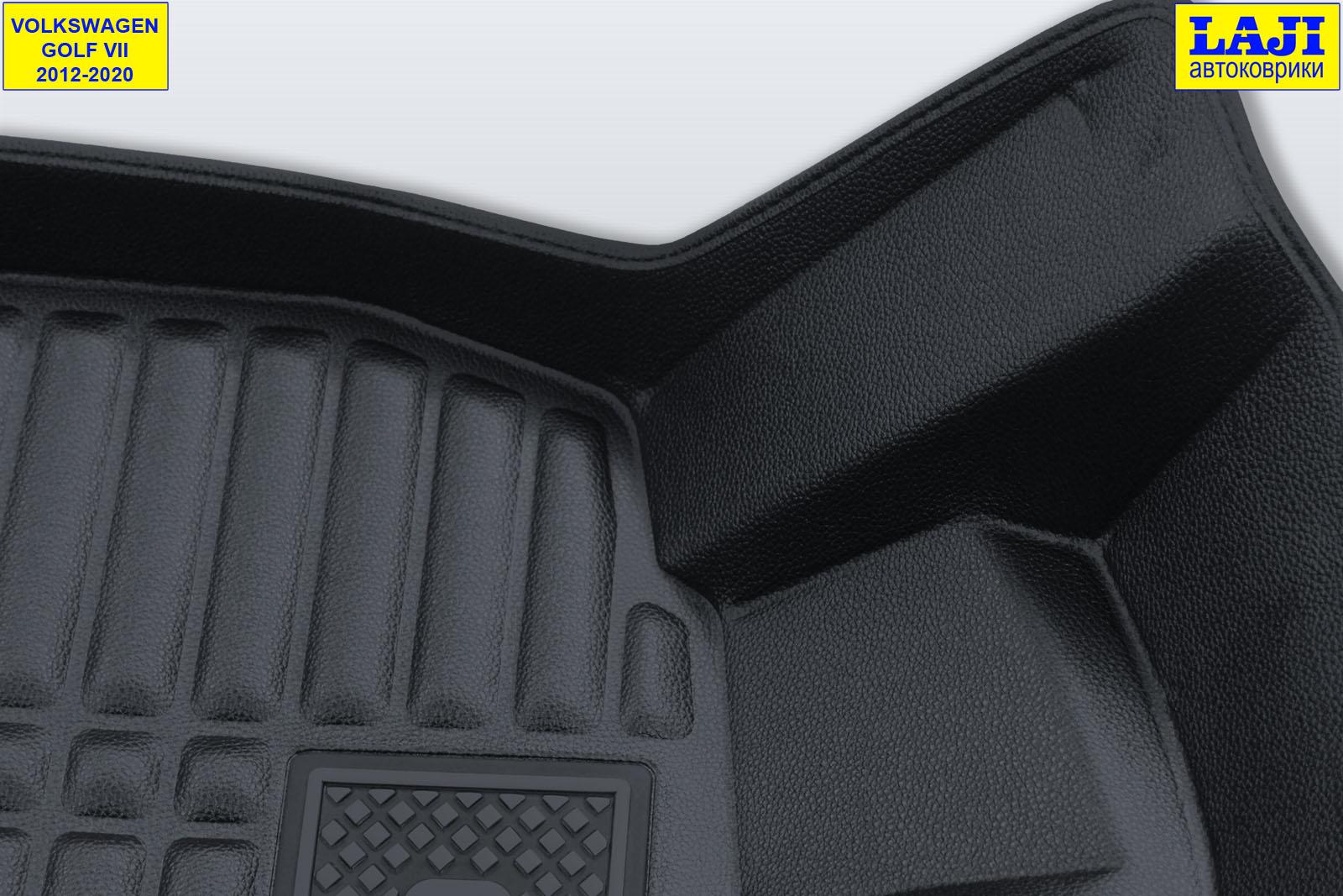 5D коврики в салон Volkswagen Golf 7 2012-2020 6