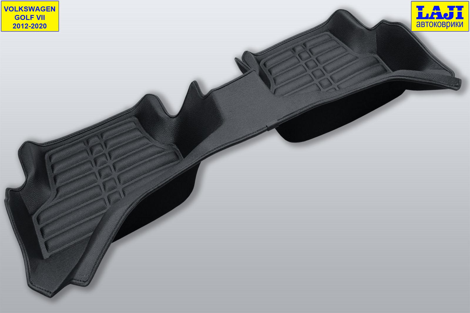 5D коврики в салон Volkswagen Golf 7 2012-2020 9
