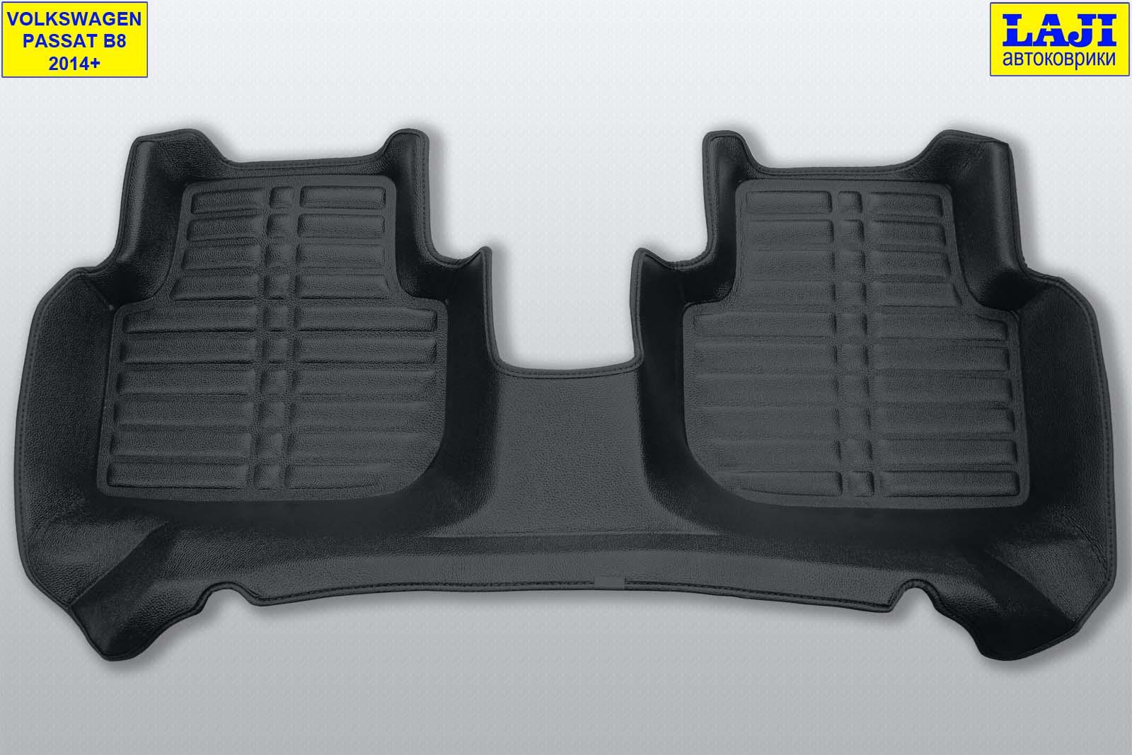 5D коврики в салон Volkswagen Passat B8 2014-н.в. 10