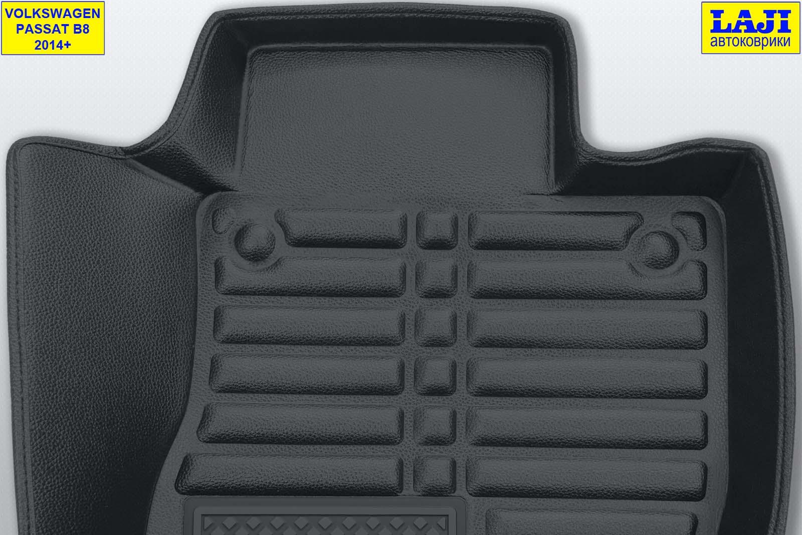 5D коврики в салон Volkswagen Passat B8 2014-н.в. 8
