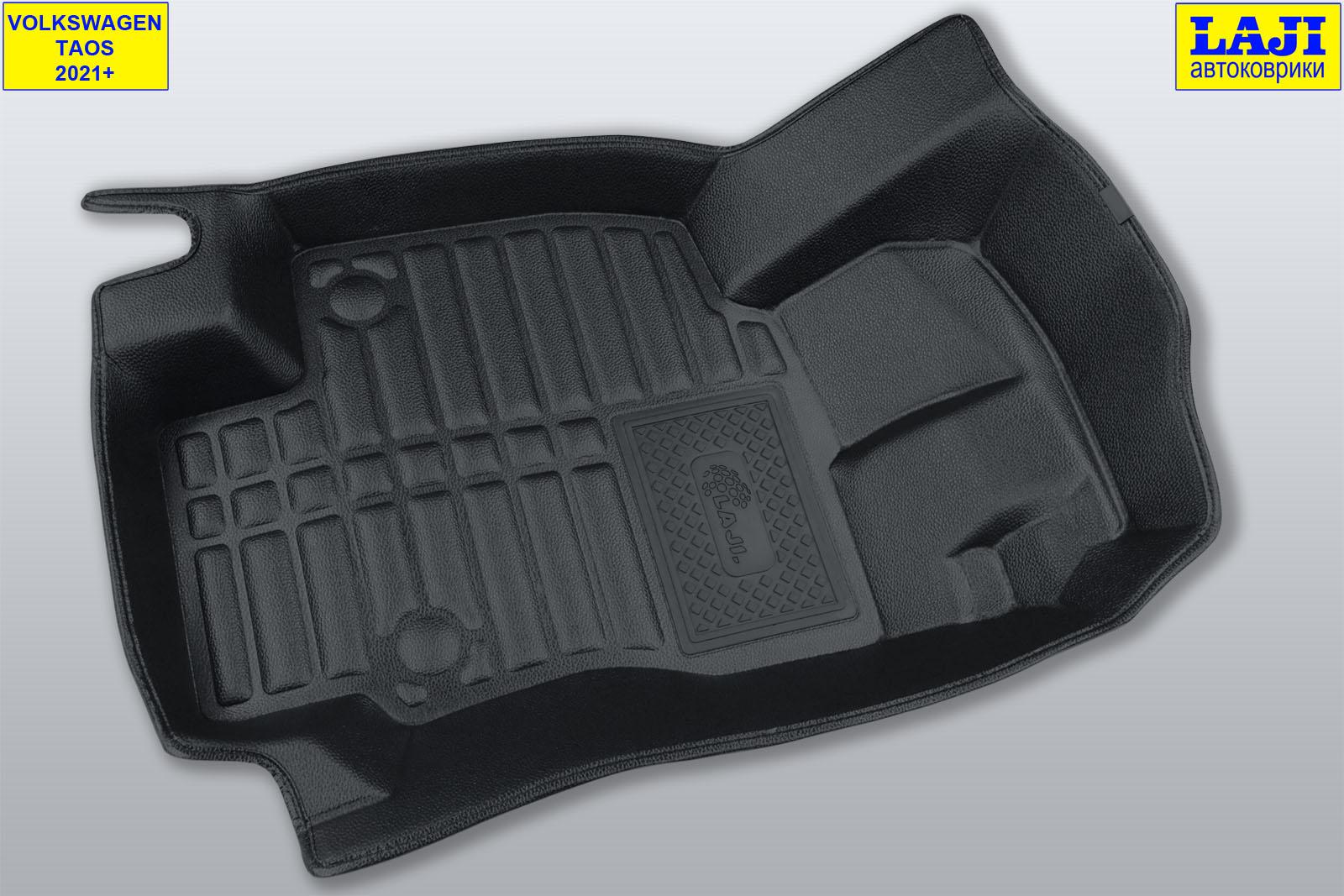 5D коврики в салон Volkswagen Taos 2021-н.в. 2