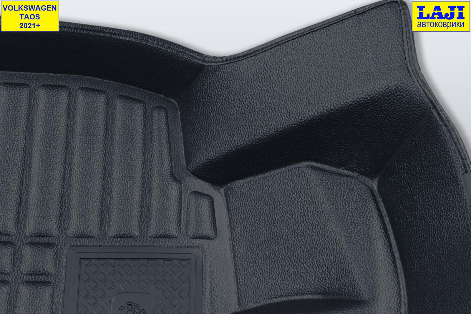 5D коврики в салон Volkswagen Taos 2021-н.в. 6