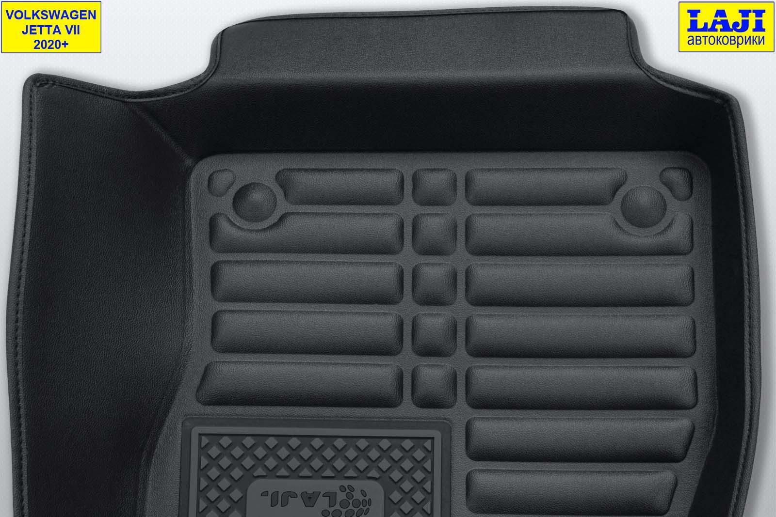 5D коврики в салон Volkswagen Jetta 7 2020-н.в. 8